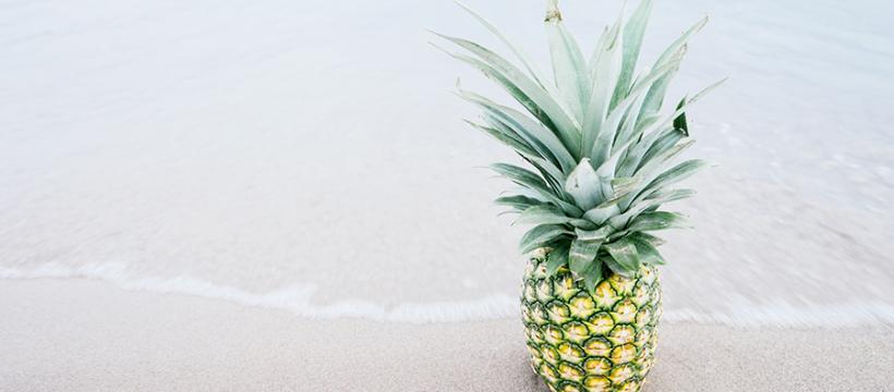 Ananás je plný živín a antioxidantov