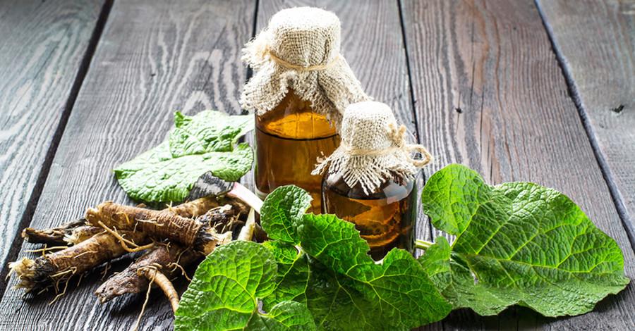 Lopúchový olej pre husté vlasy
